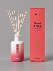 Aery Living - Aromatherapy 200ml Reed Diffuser - Good Vibes