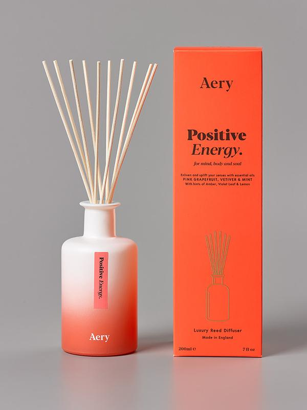 Aery - Aromatherapy 200ml Reed Diffuser - Positive Energy