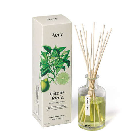 Aery Living - Botanical 200ml Reed Diffuser - Citrus Tonic