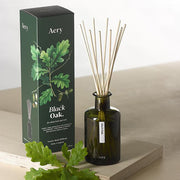 Aery Living - Botanical Green 200ml Reed Diffuser - Black Oak