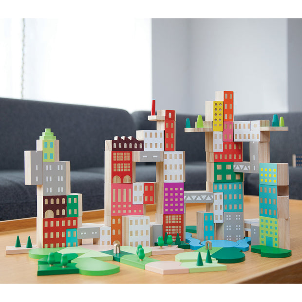 Areaware - Blockitecture Big City Collectors Set Building Blocks