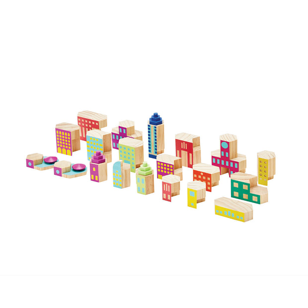 Areaware - Blockitecture Deco Mega Set Building Blocks