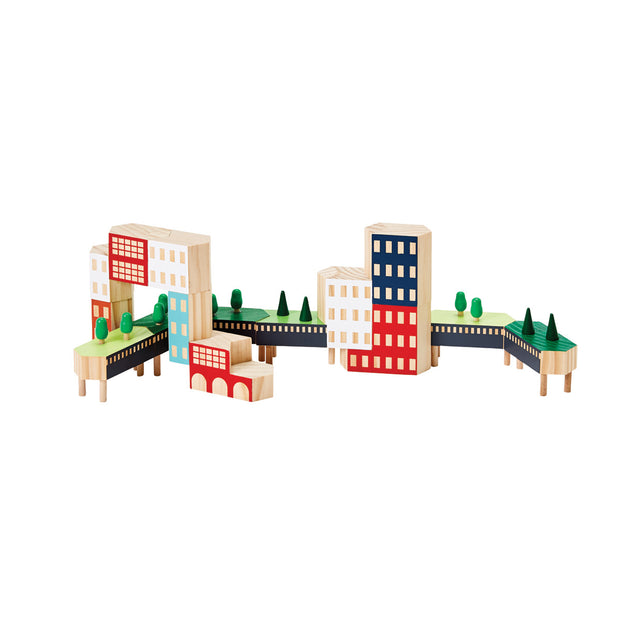 Areaware - Blockitecture NYC Greenway Building Blocks