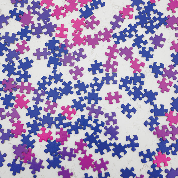 Areaware - Gradient Puzzle Jigsaw - Blue Pink