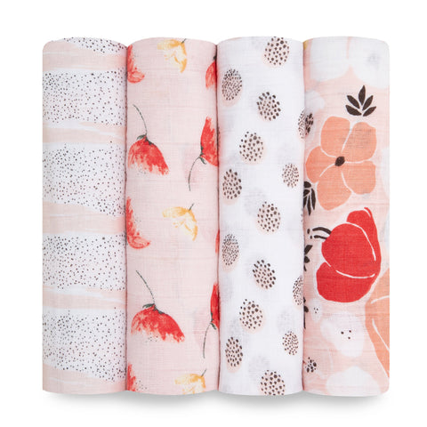 Aden + Anais - Classic Muslin 4-pack Swaddles - Picked For You
