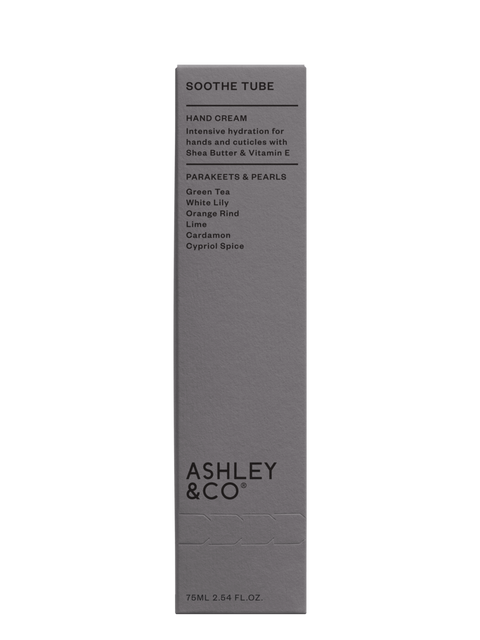 Ashley & Co - Soothe Tube Hand Cream: Parakeets & Pearls