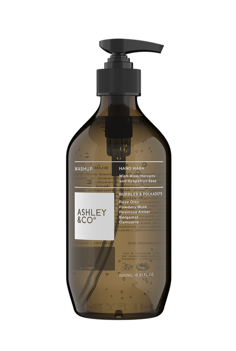 Ashley & Co - Washup Botanical Hand Wash: Bubbles & Polkadots