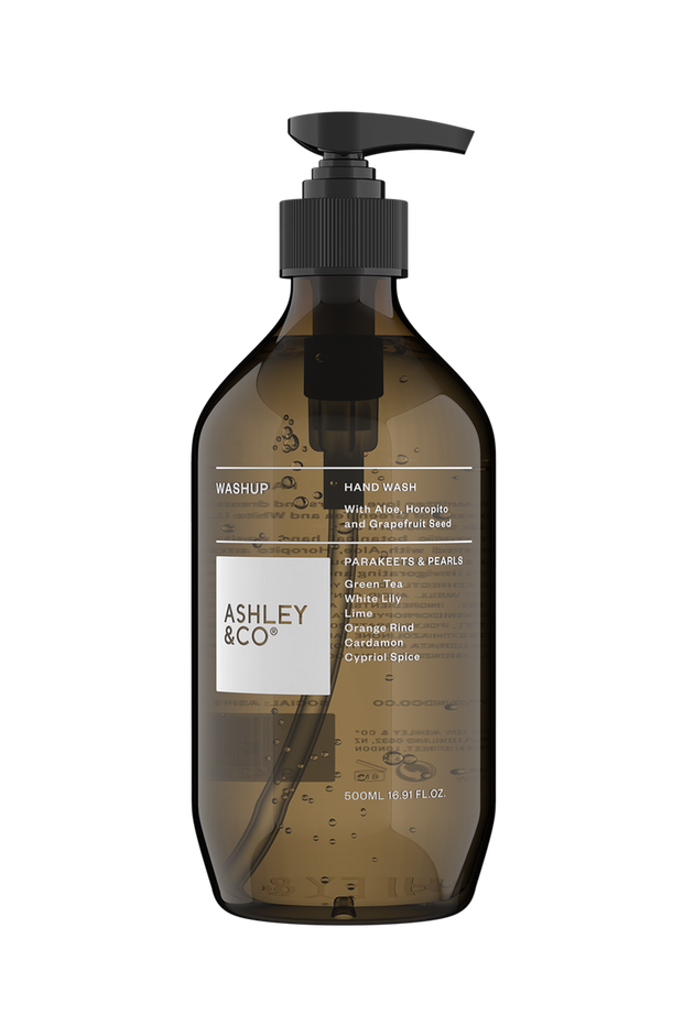 Ashley & Co - Washup Botanical Hand Wash: Parakeets & Pearls
