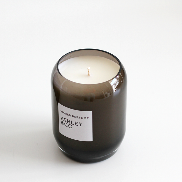 Ashley & Co - Waxed Perfume Candle: Bubbles & Polkadots