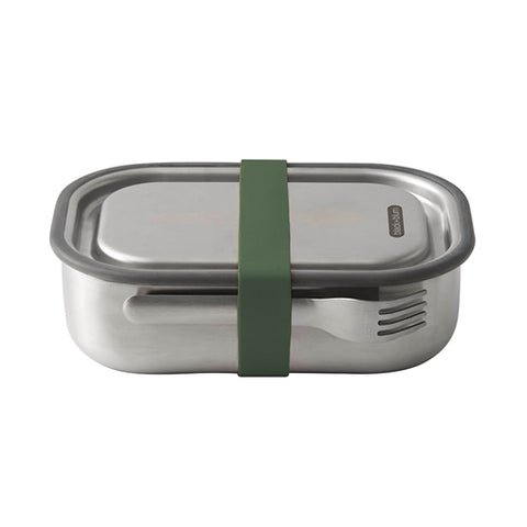 Black & Blum - Stainless Steel Lunch Box - Olive