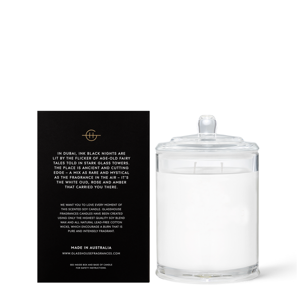 Glasshouse - Arabian Nights 380g Candle