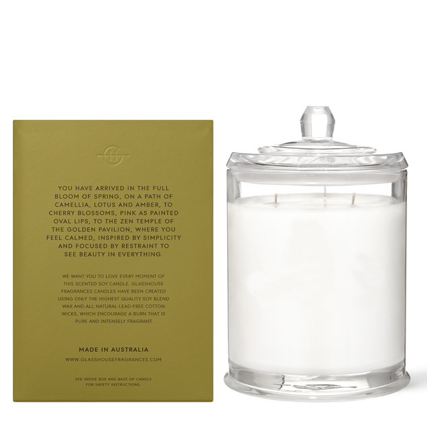 Glasshouse - Kyoto In Bloom 760g Candle