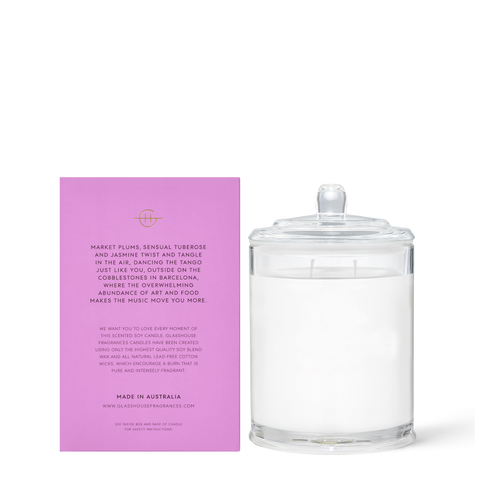 Glasshouse - A Tango In Barcelona 380g Candle