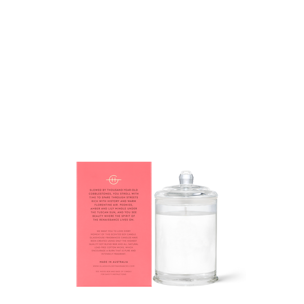 Glasshouse - Forever Florence 60g Candle
