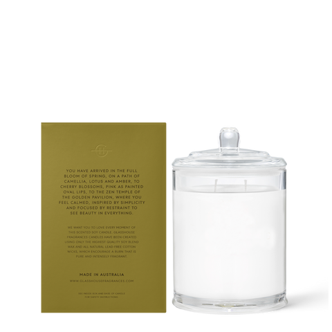 Glasshouse - Kyoto In Bloom 380g Candle