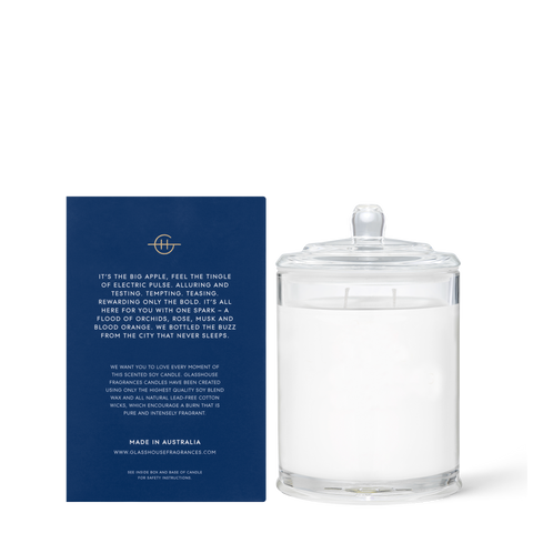 Glasshouse - I'll Take Manhattan 380g Candle