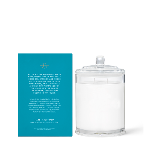 Glasshouse - Midnight In Milan 380g Candle