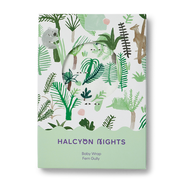 Halcyon Nights - Fern Gully Baby Wrap
