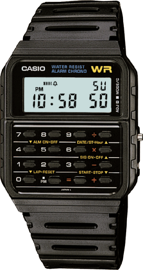 Casio Vintage Watch - CA53W-1Z