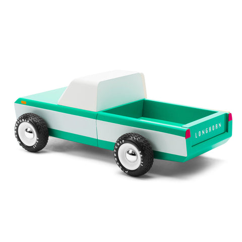 Candylab - Longhorn Green Toy Car
