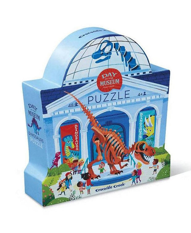 Day At Museum Dinosaur (48 pc)
