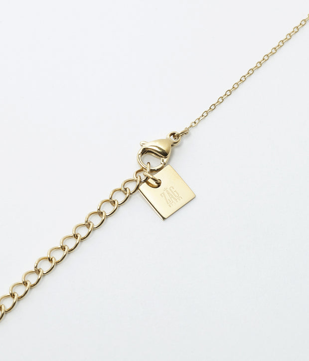Zag Bijoux - Lucky Square Necklace - Star
