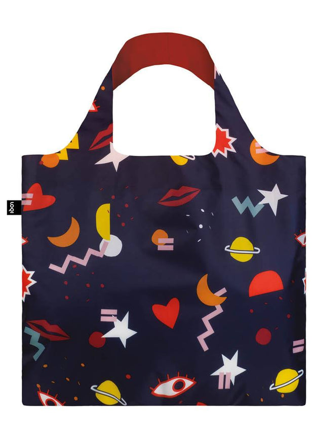 Loqi Shopping Bag: Celeste Wallaert Collection: Night Night