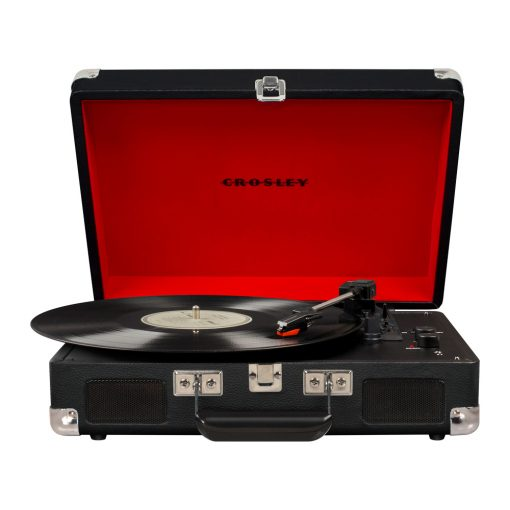 Crosley Cruiser Turntable + Crate Bundle - Black