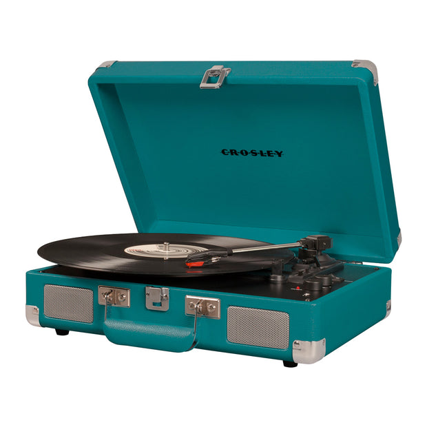 Crosley Cruiser Turntable & Crate Bundle - Teal