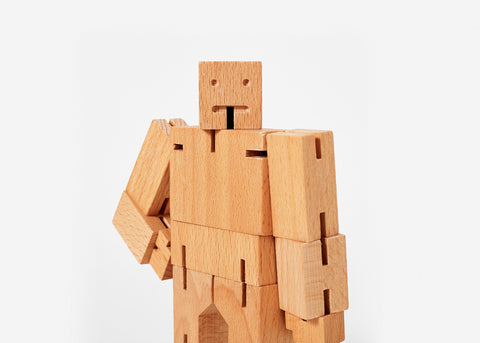 Areaware - Cubebot® Small Natural