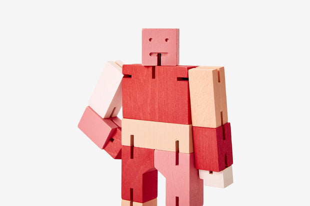 Areaware -  Cubebot® Capsule Collection: Red