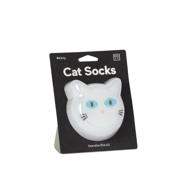 Doiy - Socks Cat - White