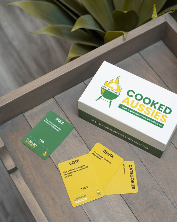 Cooked Aussies Card Game - The Wildest Drinking Game - OPUS Design