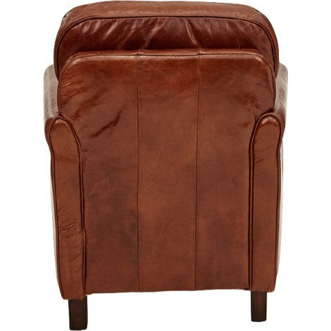 Arnold All Leather Armchair