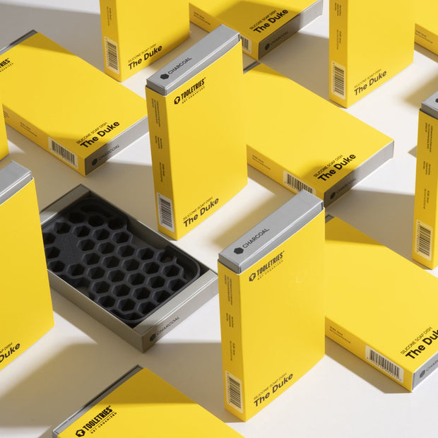 Tooletries - The Duke - Soap Dish -Charcoal