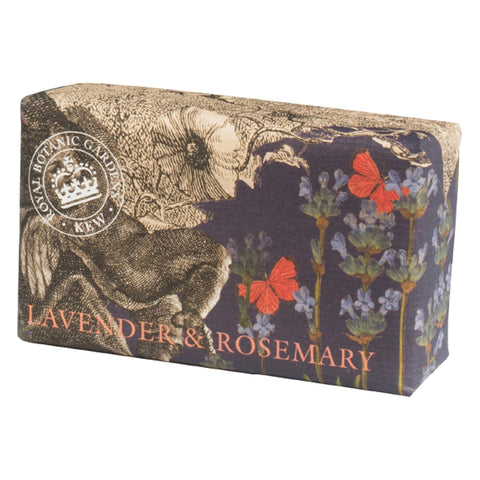 The English Company - Kew Lavender & Rosemary 240g Bar