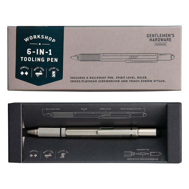 Gent's Hardware - 6-in-1 Tooling Pen