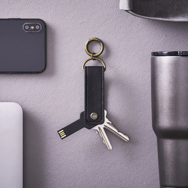 Gent's Hardware - Key Tidy with USB Flash Drive