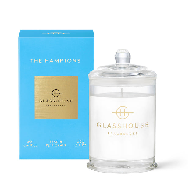 Glasshouse - The Hamptons 60g Candle