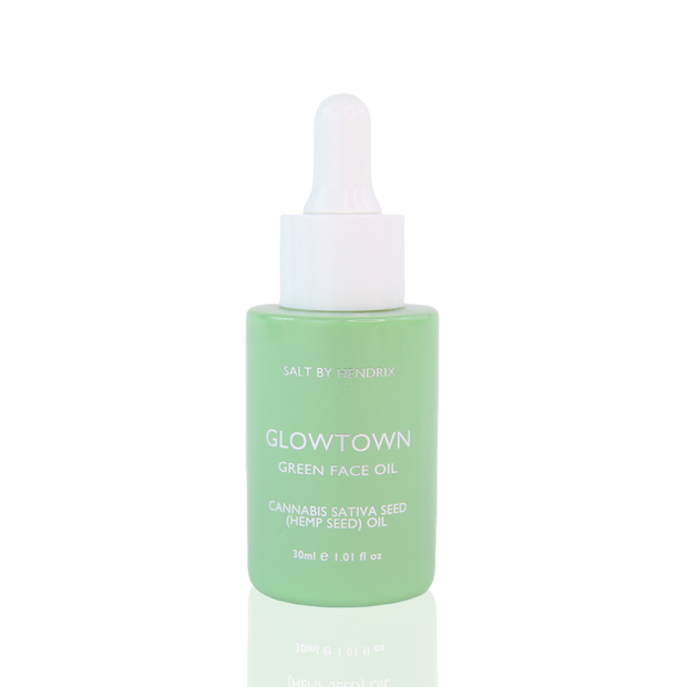 Salt by Hendrix - Glowtown Green Face Oil