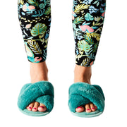 Kip & Co - Jade Green Womens Slippers