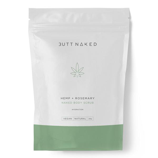 Butt Naked - Hemp & Rosemary Body Scrub