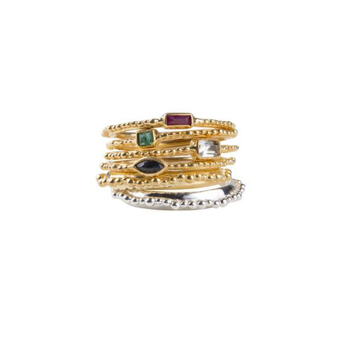 Fairley - Gold Alexa Crown Ring