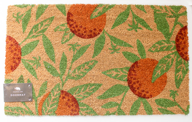 Orange Bloom Doormat