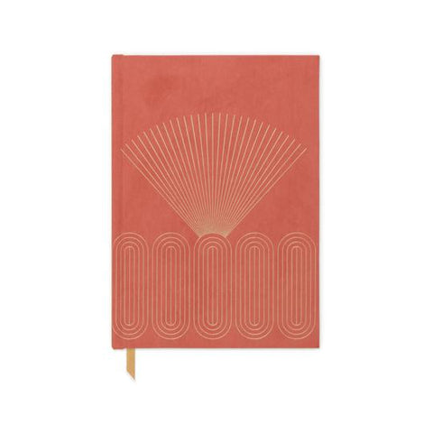 Radiant Rays - Medium Cloth Notebook