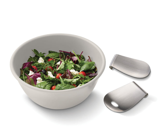 Joseph Joseph - Uno™ Salad Bowl & Servers Set - Stone