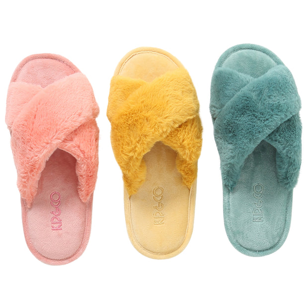 Kip & Co - Sunshine Yellow Womens Slippers