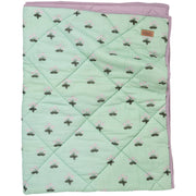 Kip & Co - Buttercup Cotton Quilted Cot Bedspread