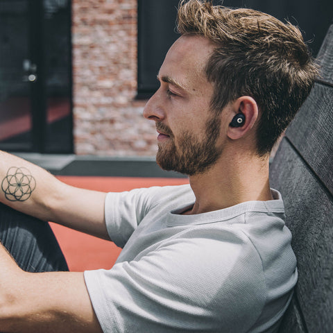 Kreafunk - Abean In Ear Wireless Headphones - Black