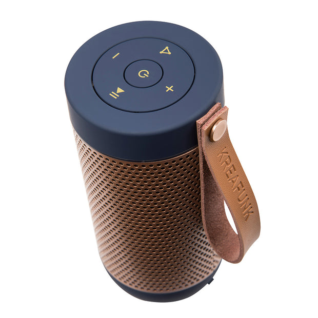 Kreafunk - Afunk Bluetooth Speaker - Blue